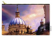 The Domes Of Immaculate Conception, Cuenca, Ecuador Carry-all Pouch