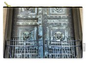 The Door At The Parthenon In Nashville Tennessee Carry-all Pouch