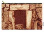 The Door Of Humility At The Church Of The Nativity Bethlehem Carry-all Pouch
