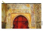 The Door To Alhambra Carry-all Pouch