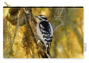 The Downy Woodpecker Carry-all Pouch