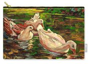 The Duck Pond At Botanical Gardens Carry-all Pouch