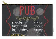 The Dugout Pub Carry-all Pouch