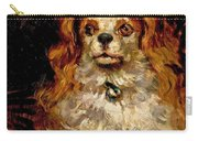 The Duke Of Marlborough. Portrait Of A Puppy Carry-all Pouch