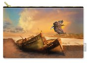 The Eagle And The Boat Carry-all Pouch