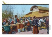 The East Market, Peking, Ca 1921 Carry-all Pouch