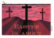 The Easter Cross Carry-all Pouch