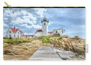The Eastern Point Lighthouse In Gloucester Carry-all Pouch