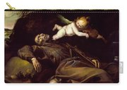 The Ecstasy Of Saint Francis Carry-all Pouch
