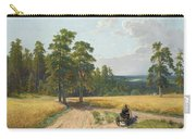 The Edge Of The Pine Forest Carry-all Pouch