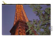 The Eiffel Tower Aglow Carry-all Pouch