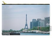 The Eiffel Tower And The Seine River Carry-all Pouch
