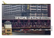 The El In Chicago Carry-all Pouch