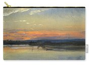 The Elbe In Evening Light Carry-all Pouch