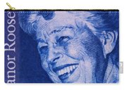 The Eleanor Roosevelt Stamp Carry-all Pouch