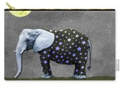The Elephant And The Moon Carry-all Pouch