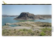 The Elephant At Elephant Butte Lake  Carry-all Pouch by Allen Sheffield