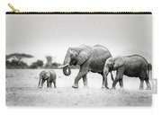 The Elephant Family Carry-all Pouch