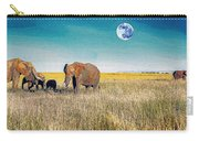 The Elephant Herd Carry-all Pouch