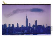 The Empire State Building In New York At 6 A. M. In January Carry-all Pouch