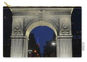 The Empire State Building Through The Washington Square Arch Carry-all Pouch