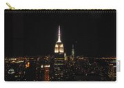 The Empire States At Night Carry-all Pouch