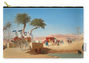 The Empress Eugenie Visiting The Pyramids Carry-all Pouch