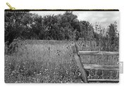 The End Of The Fence Bw Carry-all Pouch