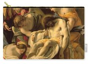 The Entombment Carry-all Pouch by Simon Vouet