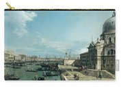 The Entrance To The Grand Canal And The Church Of Santa Maria Della Salute Carry-all Pouch by Canaletto
