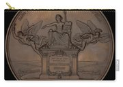 The Establishment Of The French Railway System: The Law Of 11 June 1842 [reverse] Carry-all Pouch