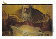 The Eternal Father Carry-all Pouch by Paolo Caliari Veronese