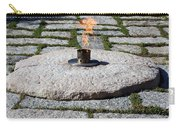 The Eternal Flame At President John F. Kennedy's Grave Carry-all Pouch