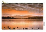 The Evening Geese Carry-all Pouch