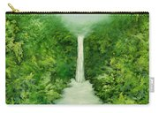 The Everlasting Rain Forest Carry-all Pouch by Hannibal Mane