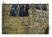 The Evil Counsel Of Caiaphas Carry-all Pouch by Tissot