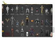 The Evolution Of Robots In Movies Carry-all Pouch