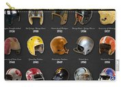 The Evolution Of The Nfl Helmet Carry-all Pouch