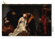 The Execution Of Lady Jane Grey In The Tower Of London In The Year 1554 Carry-all Pouch