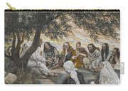 The Exhortation To The Apostles Carry-all Pouch