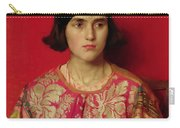 The Exile - Heavy Is The Price I Paid For Love Carry-all Pouch by Thomas Cooper Gotch