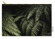 The Exotic Dark Jungle Carry-all Pouch