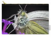 The Eye Of The Green-veined Butterfly. Carry-all Pouch