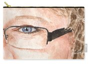 The Eyes Have It - Donna Carry-all Pouch
