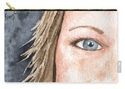 The Eyes Have It - Jill Carry-all Pouch