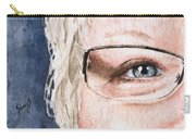 The Eyes Have It - Vickie Carry-all Pouch