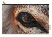 The Eye Of A Burro Carry-all Pouch