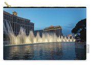 The Fabulous Fountains At Bellagio - Las Vegas Carry-all Pouch