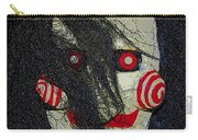 The Face Halloween Card Carry-all Pouch