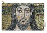 The Face Of Christ Carry-all Pouch by Byzantine School